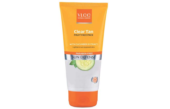 Clear Tan Fruit Face Pack - VLCC Beauty Products