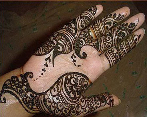 Eid Mehndi Designs For Hand