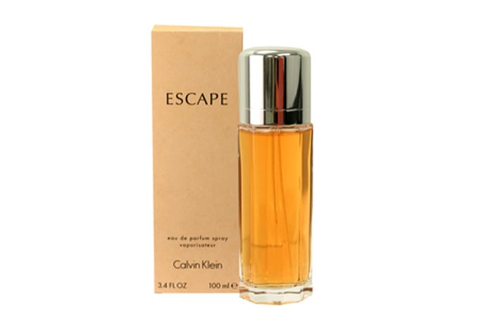 Best Calvin Klein Perfumes - 9. Escape