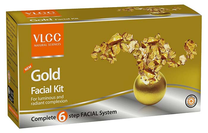 Gold Facial Kit - VLCC Beauty Products