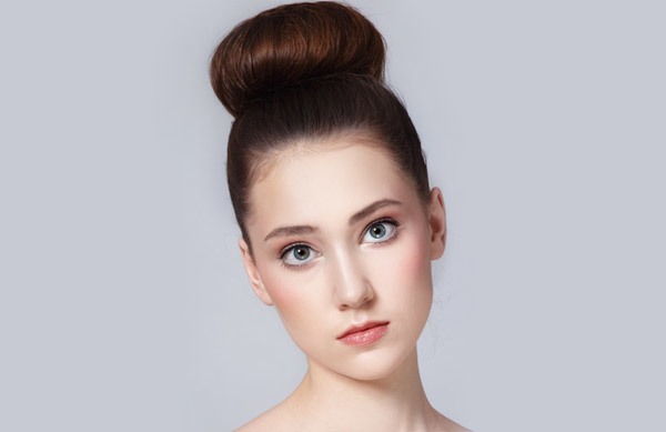 High Bun Hairstyle