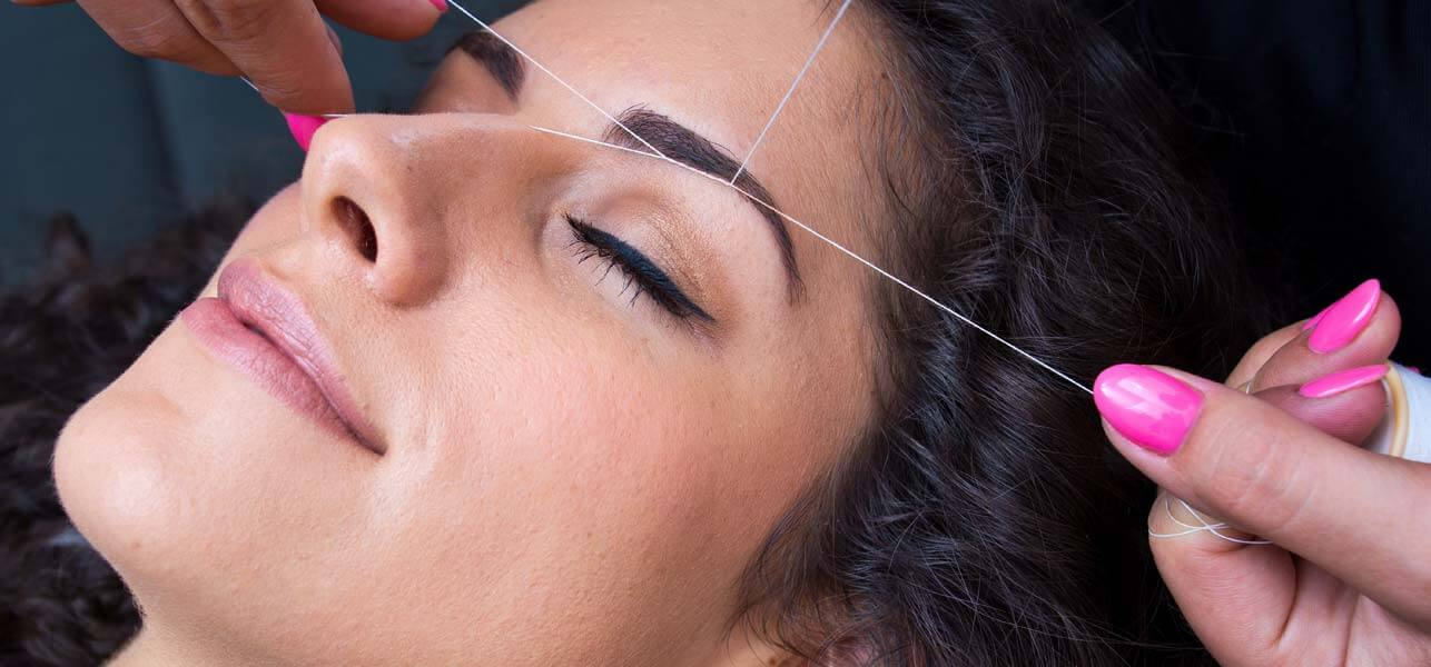 Pictures Of Eyebrow Threading Steps Kidskunstfo