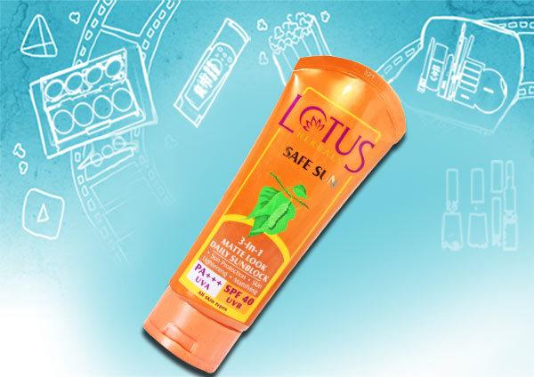 Lotus 3 in 1 Matte look Daily Sunblock