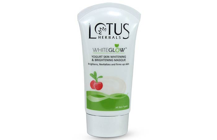 Lotus Herbals Whiteglow Yogurt Skin Whitening & Brightening Masque