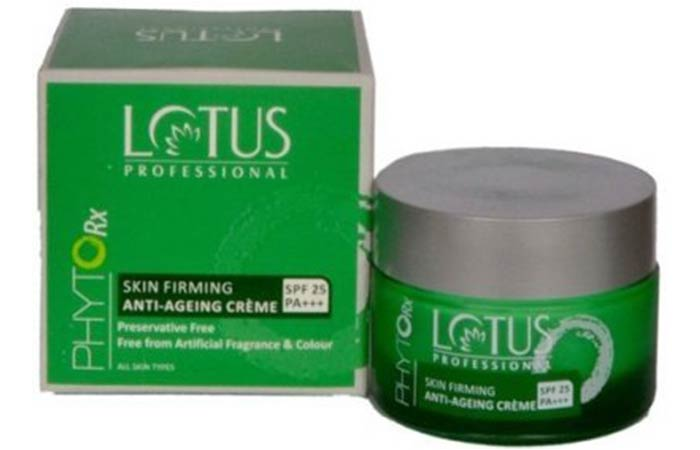 Lotus Professional Skin Firming And Anti-aging Creme - Lotus Herbals Skin Care Products