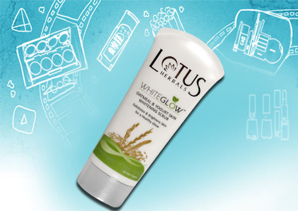 Lotus Whiteglow Oatmeal & Yogurt Skin brightening Scrub