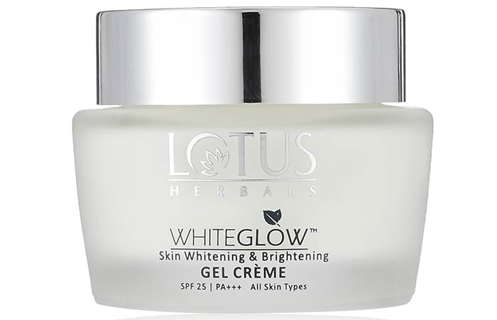 Lotus Whiteglow Skin Whitening And Brightening Gel Creme - Lotus Herbals Skin Care Products