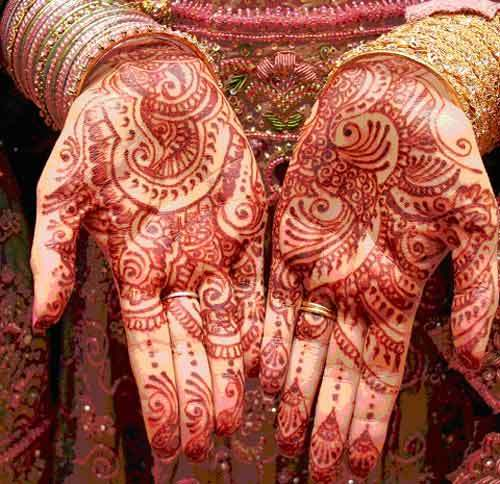 Mehndi Designs for Hands for Brides