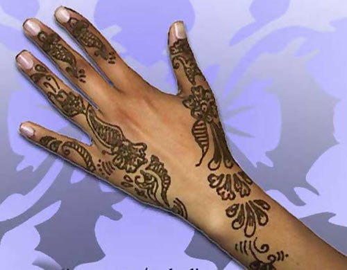 Mehndi Designs In : Latest mehendi designs for hands to try out in