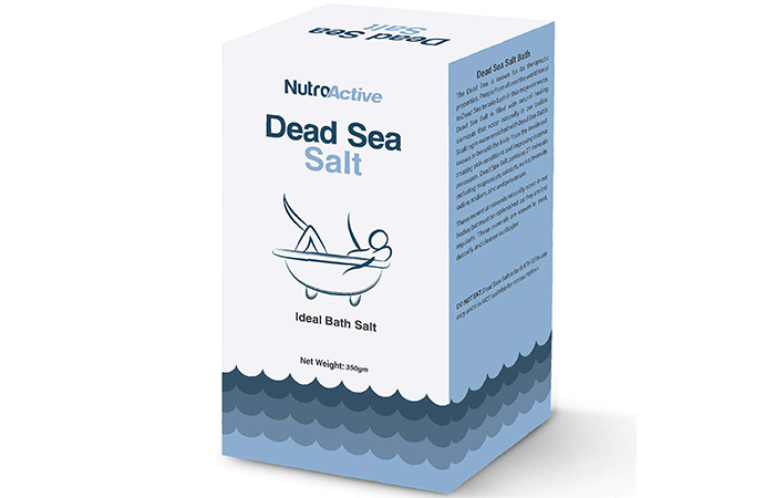 NutroActive Dead Sea Salt - Best Bath Salts