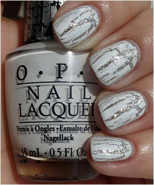 Best Crackle Nail Polishes - 4. OPI White Shatter