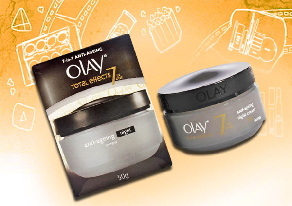 Night cream for mature skin