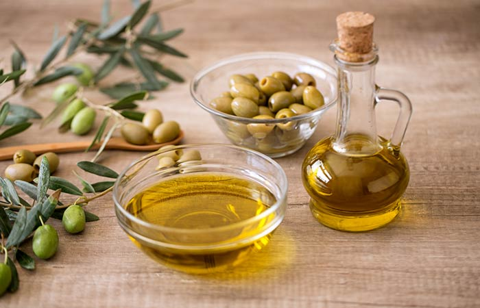 How To Get Rid Of A Double Chin - Olive Oil