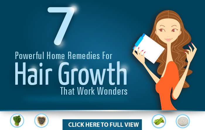 Powerful Home Remedies For Hair Growth That Work Wonders