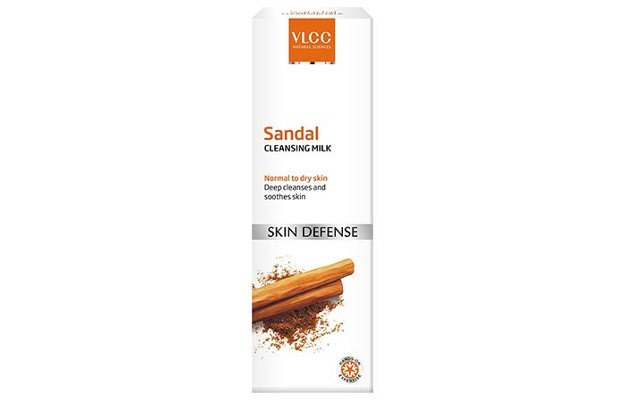 Sandal Cleansing Milk - VLCC Beauty Products