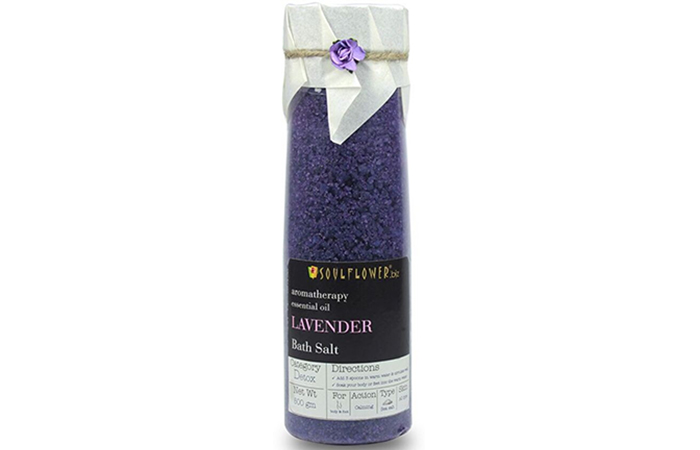 Soulflower Lavender Bath Salt - Best Bath Salts