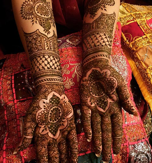 20 Outstanding Bridal Mehendi Designs Collection 2019,Good Business Card Design