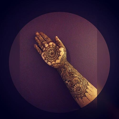 Royal Architecture represents the Mughal era henna tattoo designs.