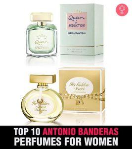 Top 10 Antonio Banderas Perfumes For Women