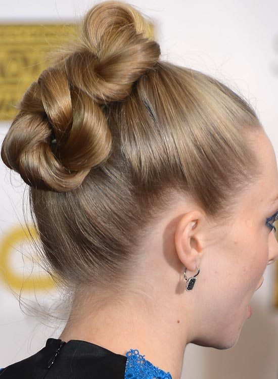 Twisted-and-Pinned-Smooth-High-Hairdo