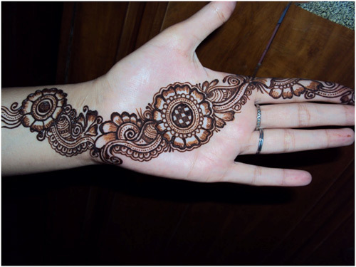 basically very simple. 28 Easy And Simple Mehndi Designs That You Should Try In 2018