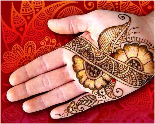 beautiful design for mehandi