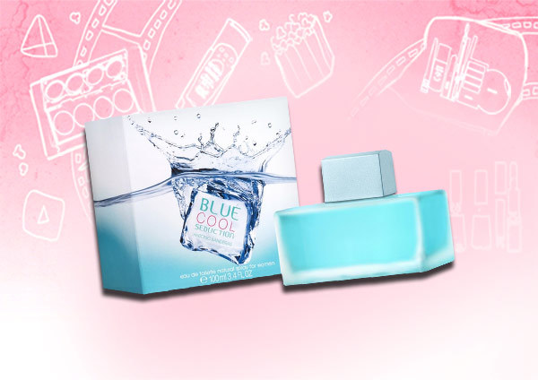 blue cool perfume