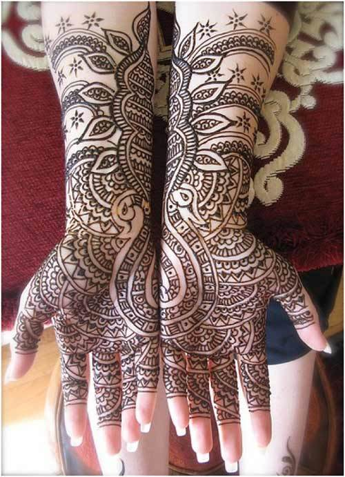 30 Breathtaking Arabic Mehndi Designs To Try In 2015