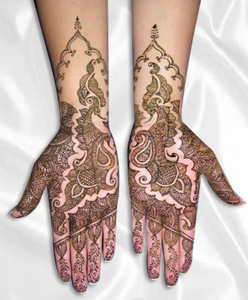 bridal mehndi for hands