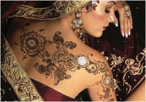 bridel mehandi hand design