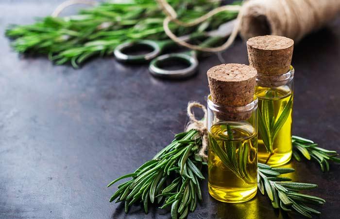 (c) Rosemary Oil For Hair Growth