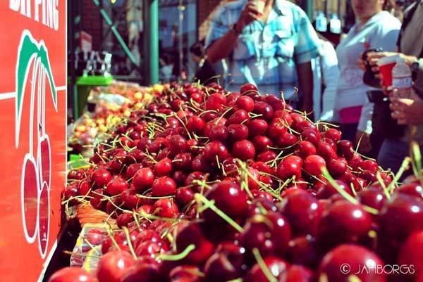 cherries vitamin c