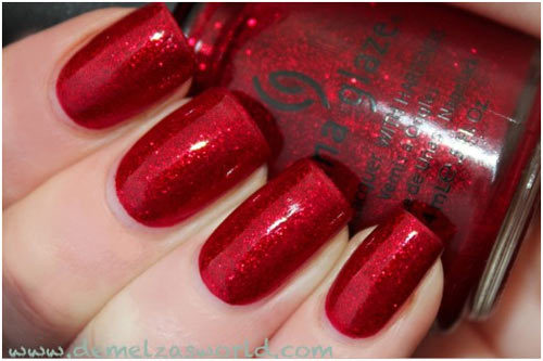 China Glaze Ruby Pumps Nail Polish Pinit