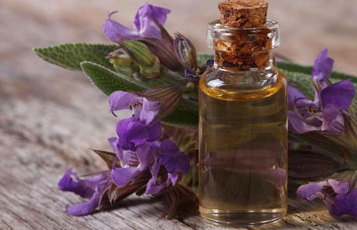 (e) Sage Oil For Hair Growth