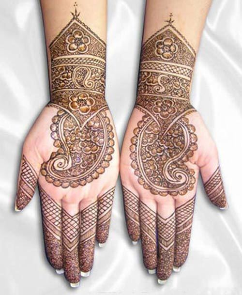 easy mehndi designs for hands