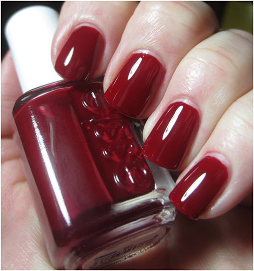 essie fishnet stockings nail polish