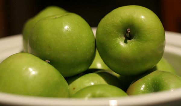 Maçãs Verdes e a sua saúde