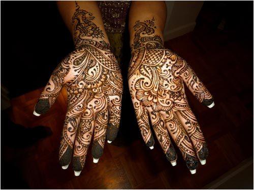 henna designs for full hand