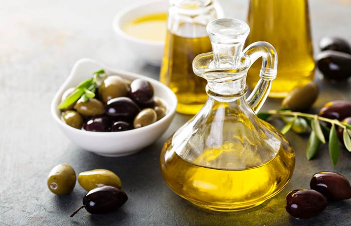 (i) Olive Oil For Hair Growth