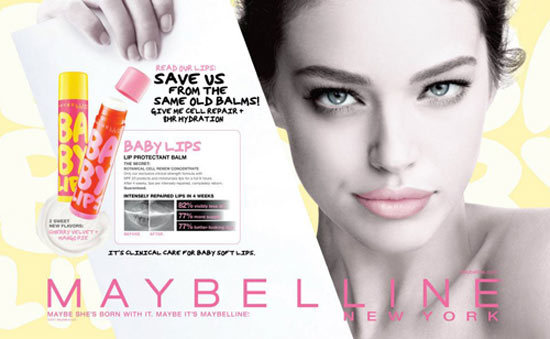 maybelline baby lip balms