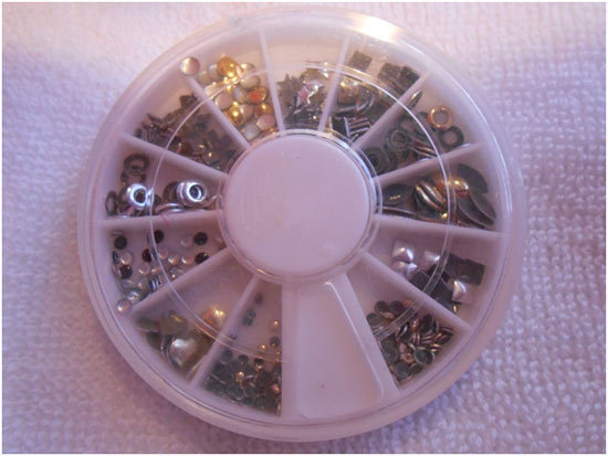 nail art stud wheel