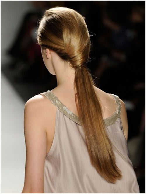 ponytail hairstyles tumblr