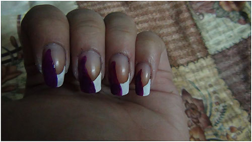 purple polish for nails