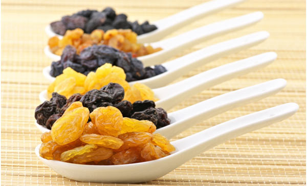 raisins for skin