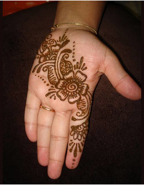 short mehndi designs