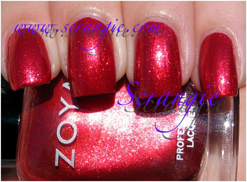 zoya carrie ann swatch