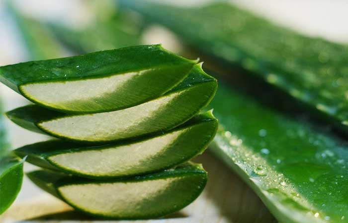1. Aloe Vera For Dry Skin