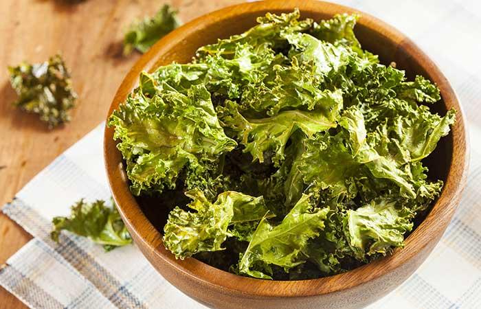1. Baked Kale Chips