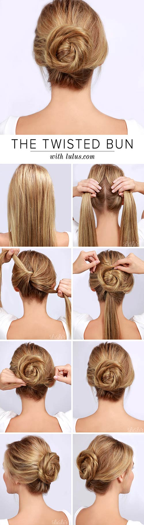 1. Twisted Bun