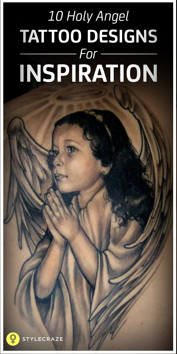 10 holy angel tatoo designs for inspiration